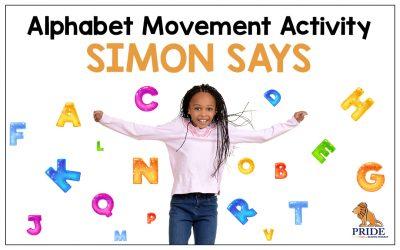 Alphabet Movement Activity: Simon Says