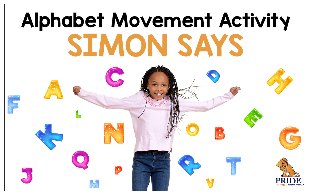 Alphabet Movement Activity: Simon Says
