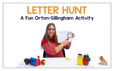 Letter Hunt: A Fun Alphabet Activity