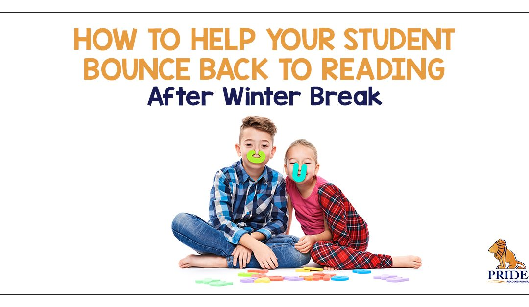 How to Help Your Student Bounce Back to Reading After Winter Break