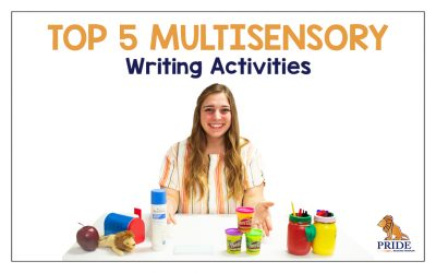 Top 5 Multisensory Writing Activities